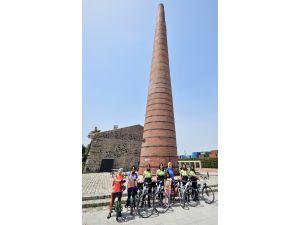 İzmir'e 135 kilometrelik bisiklet yolu