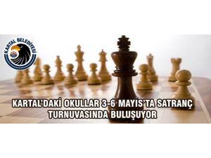Kartal'daki Okullar 3-6 Mayıs'ta Satranç Turnuvasında Buluşuyor