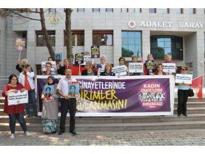 Öldürülen Rabia Aydın İçin Toplandılar