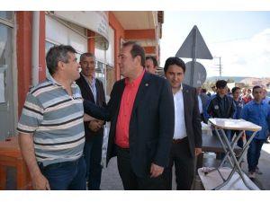 Milletvekili Harun Karacan Kırka'da