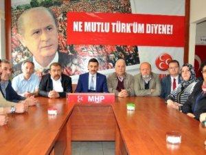 MHP Eskişehir Odunpazarı Teşkilatı Görevlerinden İstifa Etti