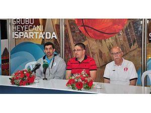 TB2L Final Grubu basın toplantısı Isparta'da düzenlendi