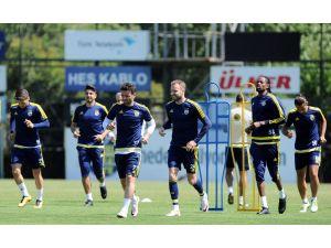 Fenerbahçe, kupa finalinin hazırlıklarını İstanbul'da tamamladı