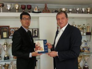 Türkiye'den Kırgızistan Tekvando Federasyonu'na destek