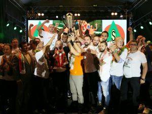 Albimo Alanyaspor şampiyonluğu kutladı