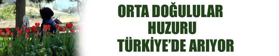 'Orta Doğulular huzuru Türkiye'de arıyor'