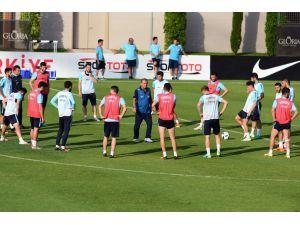 A Milli Takım Slovenya maçı hazırlıklarını sürdürdü