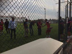 Eskişehirspor'un yıldız transferi Zengin ilk antrenmana çıktı