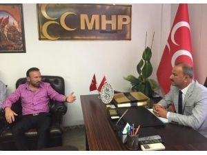 Başkan Doğan'dan MHP'ye teşekkür ziyareti