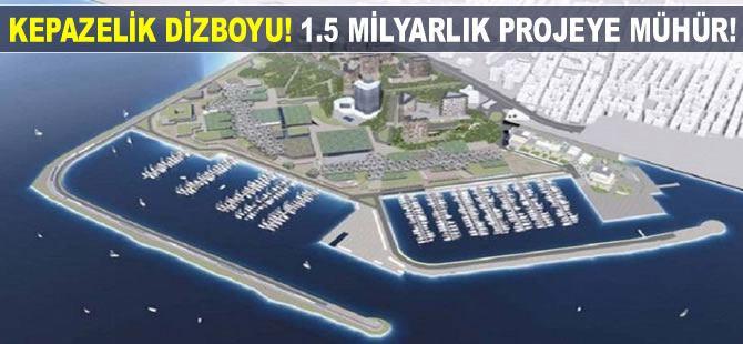 Kepazelik dizboyu! 'Ataköy Mega Yat Limanı' inşaatı mühürlendi