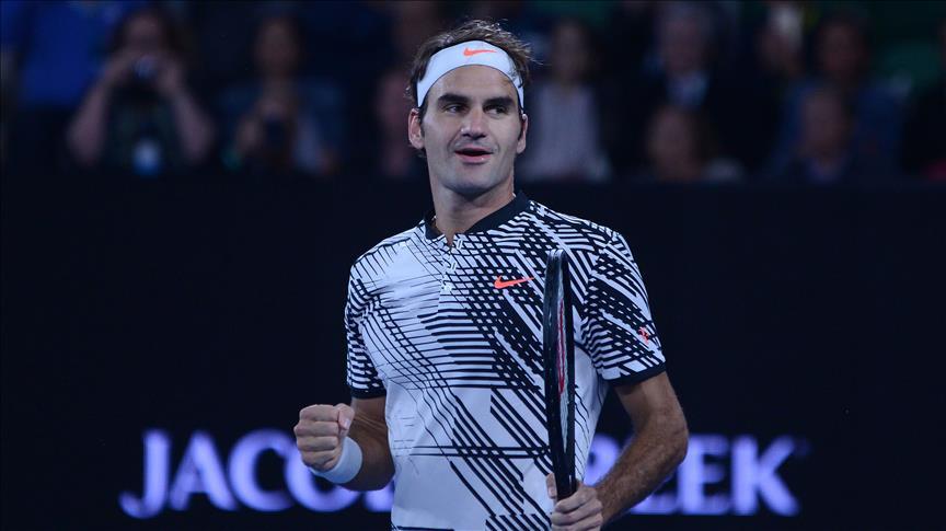 Federer adını yarı finale yazdırdı