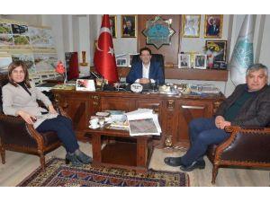 AK Partili İnceöz'den, Başkan Yazgı'ya ziyaret