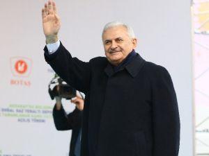 Başbakan Yıldırım Aksaray'da açılışta konuştu