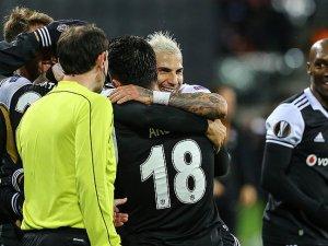 Beşiktaş tur için avantaj sağladı
