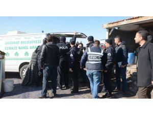 Aksaray'da bir kişi av tüfeğiyle intihar etti