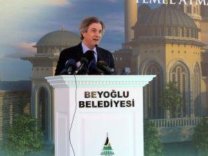 Başkan Demircan, Taksim'e yapılacak caminin ismiyle ilgili konuştu