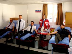 Sarıgöl'de kan bağışı kampanyası
