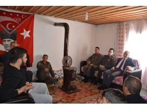 Kaymakam Güven'den El-Bab gazisine ziyaret