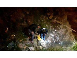 Polisle çatışan katil zanlısı su kanalında yakalandı