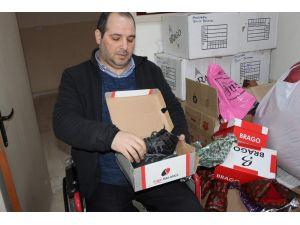 Siirt'te yoksul öğrencilere giyim yardımı
