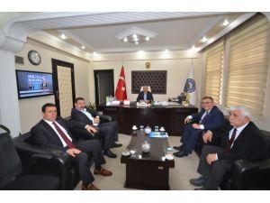 Türk Yerel Hizmet-Sen'den Başkan Yikit'e ziyaret