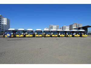 Diyarbakır'da çevre dostu 10 otobüs seferlere başlıyor