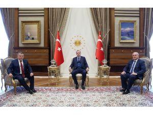 Cumhurbaşkanı Erdoğan, Yargıtay Başkanı ve Başsavcısını kabul etti
