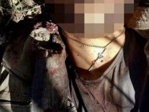 Etkisiz hale getirilen teröristin boynundan haç çıktı