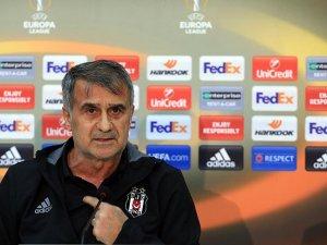 Beşiktaş Teknik Direktörü Güneş: Üzgünüz, taraftarlarımızı üzdük