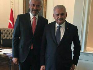 Başkan Yılmaz, Başbakan Yıldırım ile görüştü