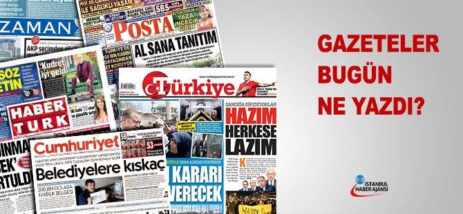 27 Nisan 2017 tarihli gazete manşetleri