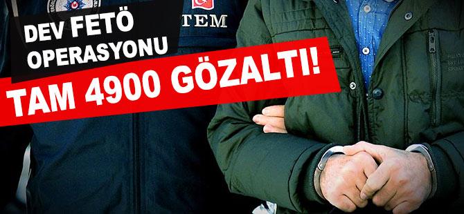 Ankara merkezli 81 ilde 8 bin 500 polisle FETÖ operasyonu