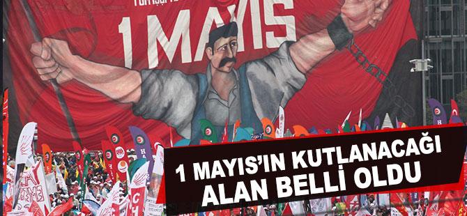1 Mayıs Ankara Tandoğan Meydanı'nda Kutlanacak