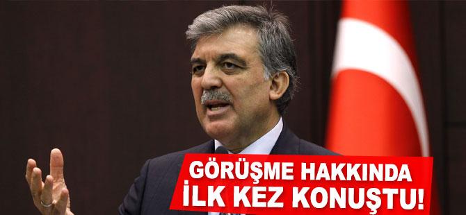 """Abdullah Gül'den """"Deniz Baykal'la Görüştü"""" İddialarına Cevap"""