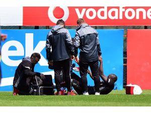 Beşiktaş'ta Aboubakar, sakatlandı