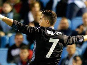 Cristiano Ronaldo Real Madrid'i zirveye taşıdı