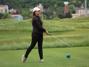 Samsun'da golf heyecanı başladı