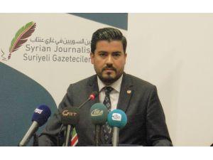 Suriye Gazeteciler Kulübü'nden Gaziantep basınına teşekkür plaketi