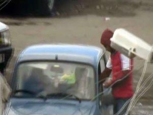 Torbacılara drone operasyonu -Torbacılar önce drone kameraya sonra polise yakalandı