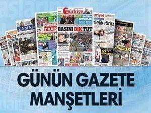 28 Temmuz 2017 tarihli gazete manşetler