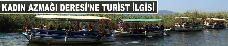 Kadın Azmağı Deresi'ne turist ilgisi