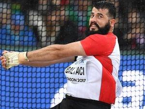 Milli sporcu Baltacı, çekiç atmada finale kaldı