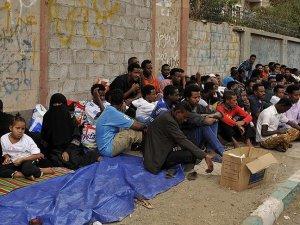 Yemen'deki Afrikalı göçmen sayısı 30 bini aştı