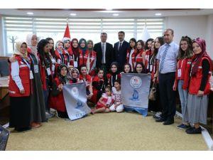 Damla Projesi öğrencileri Elazığ'da