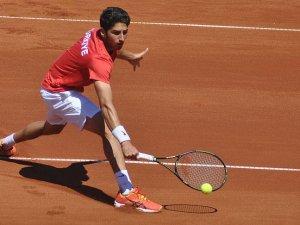 Milli tenisçi Çelikbilek çeyrek finalde