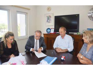 Didim Belediyesi ile Vakıfbank arasında protokol imzaladı