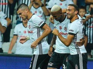 Beşiktaş galibiyet serisini sürdürüyor