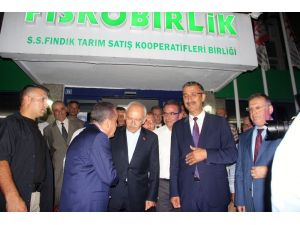CHP Genel Başkanı Kılıçdaroğlu, FİSKOBİRLİK'i ziyaret etti