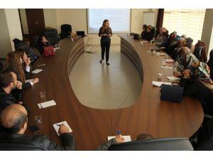 Sağlık personeline 'Mesleki Rol Gelişim' eğitimi