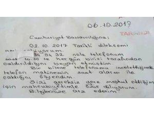 Savcılığa Şikayete Giden Vatandaş, Hatasını Anlayınca Dilekçeyle Özür Diledi